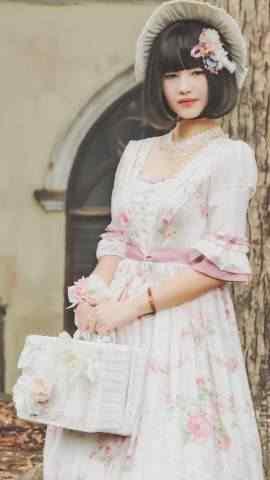 Lolita小洋装少女