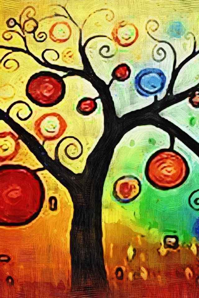 涂鸦绘画创意高清手机壁纸