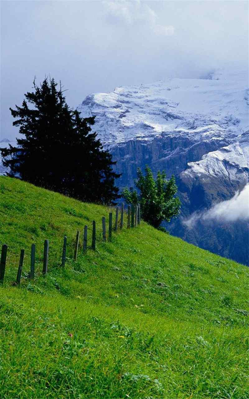 富士山美丽自然风景山水风光高清手机壁纸图片