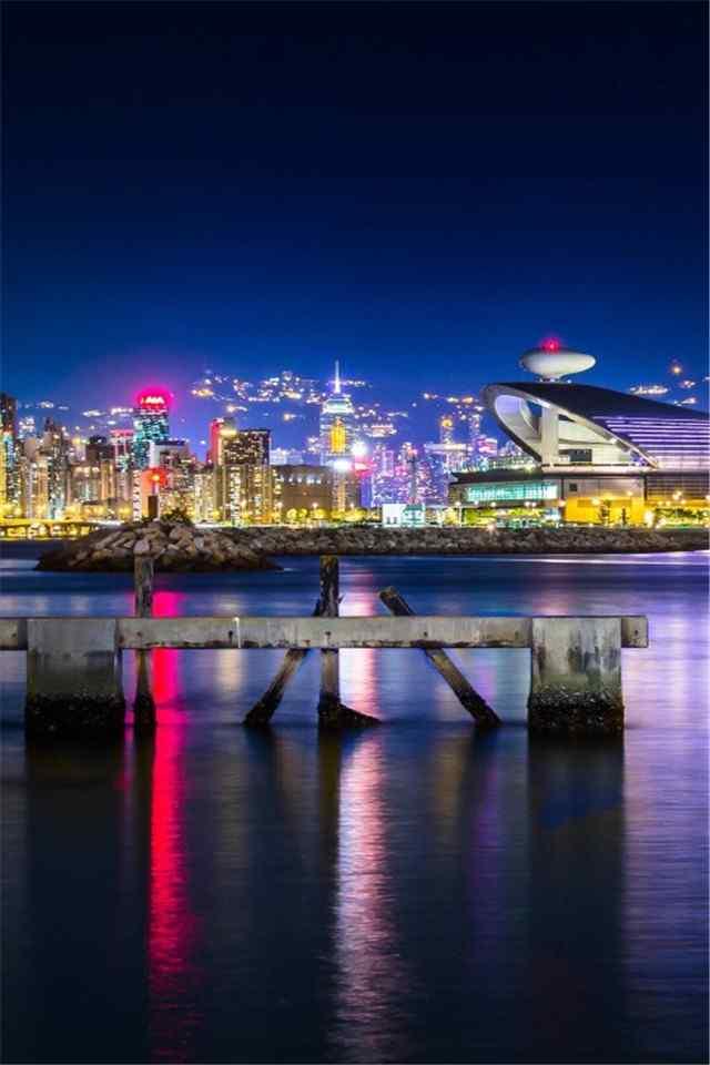 香港hongkong夜景自然风景高清手机壁纸下载