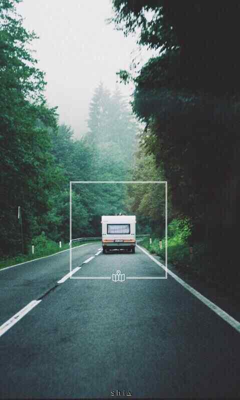 林风景简约文字图片高清手机壁纸图片
