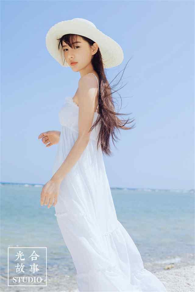 长发唯美海边美女高清高清手机壁纸下载