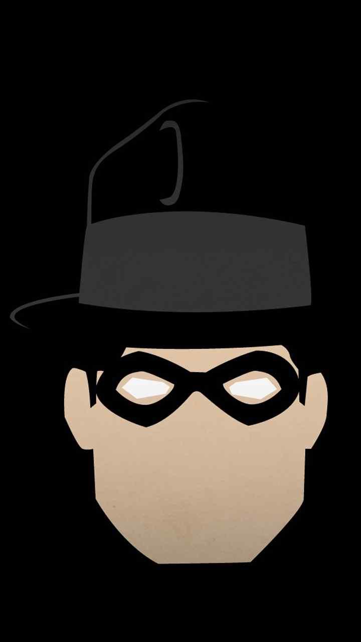 美式漫画英雄头像设计创意高清手机壁纸