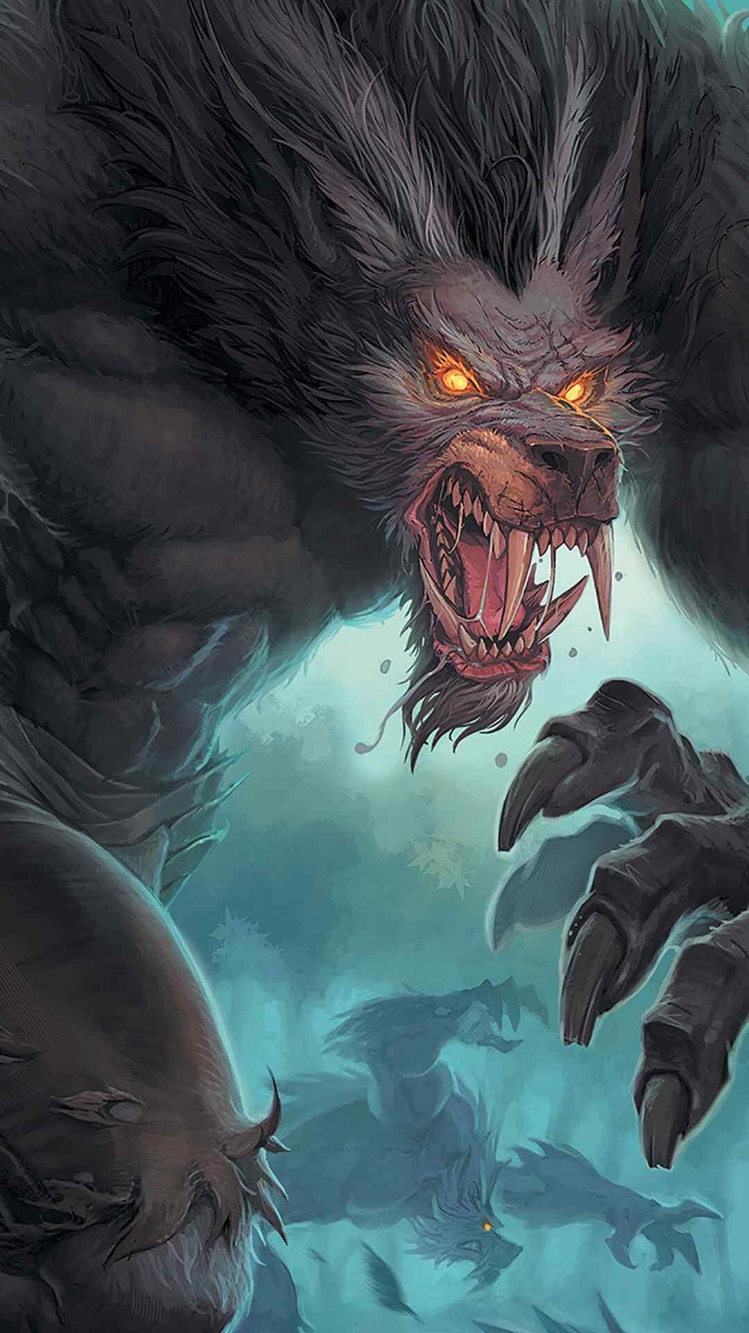 兽世界游戏人物酷炫高清高清手机壁纸图片