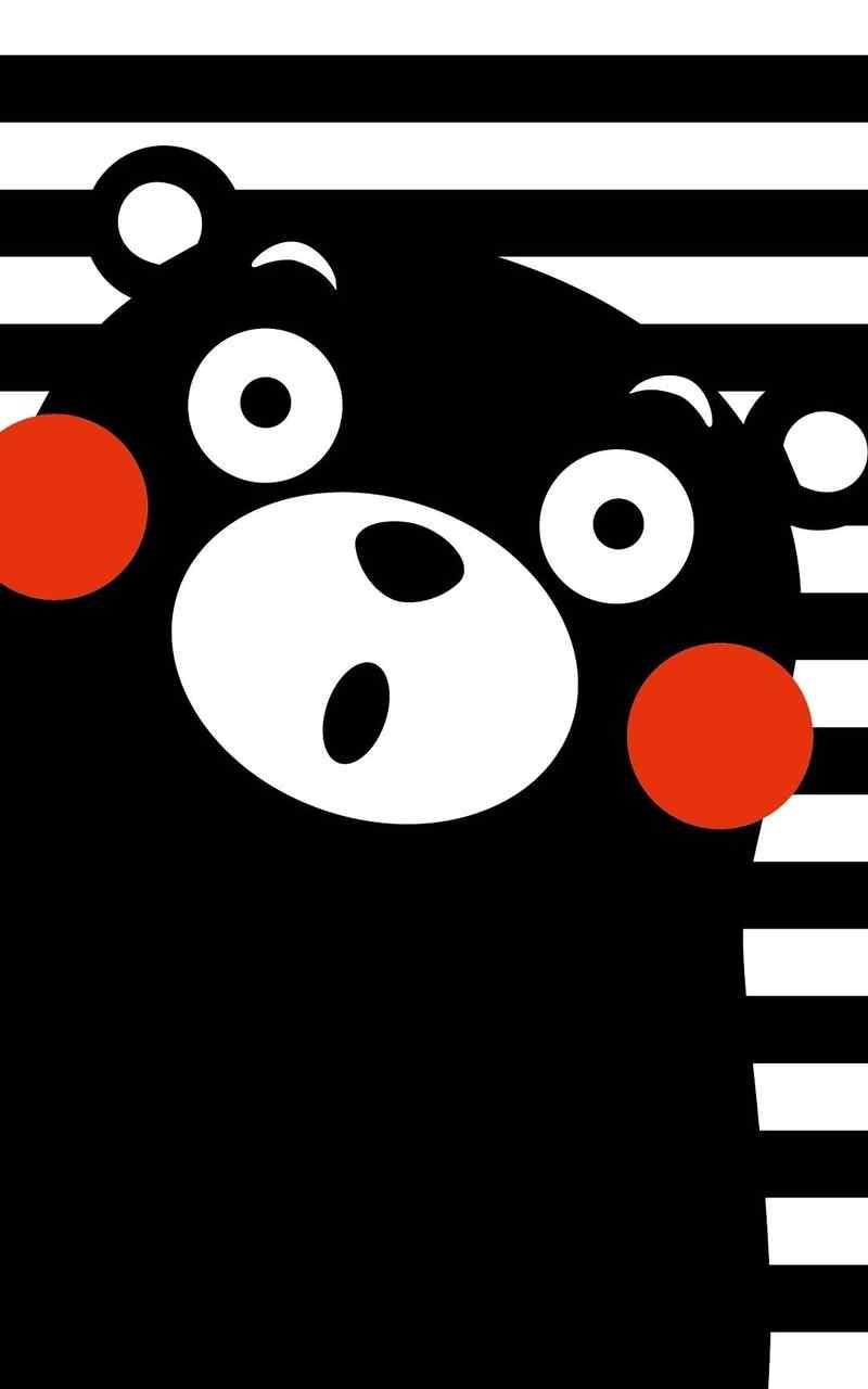 呆萌可爱熊本熊高清手机壁纸第一辑
