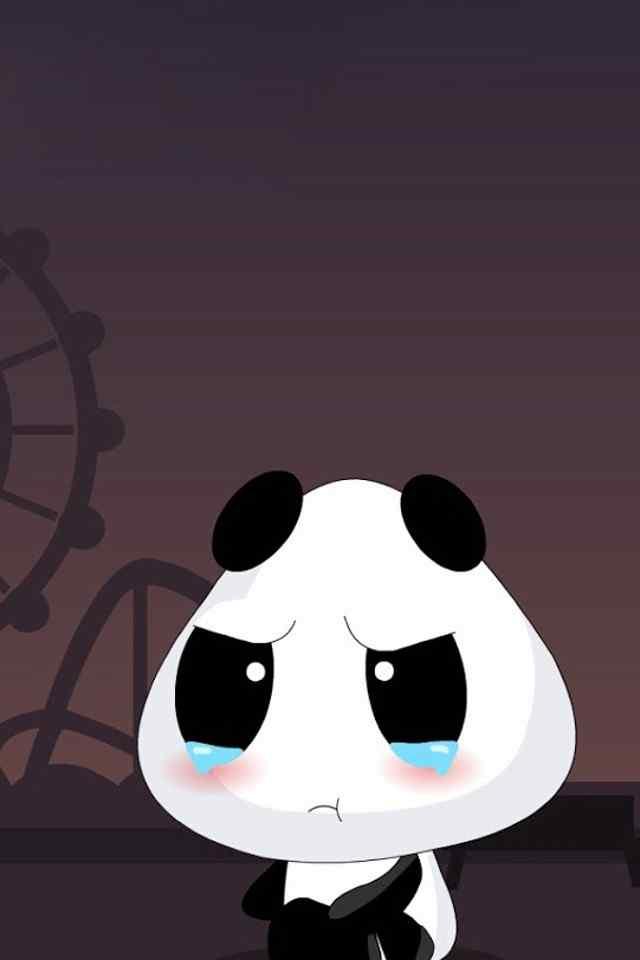 超可爱呆萌小熊猫手机高清壁纸