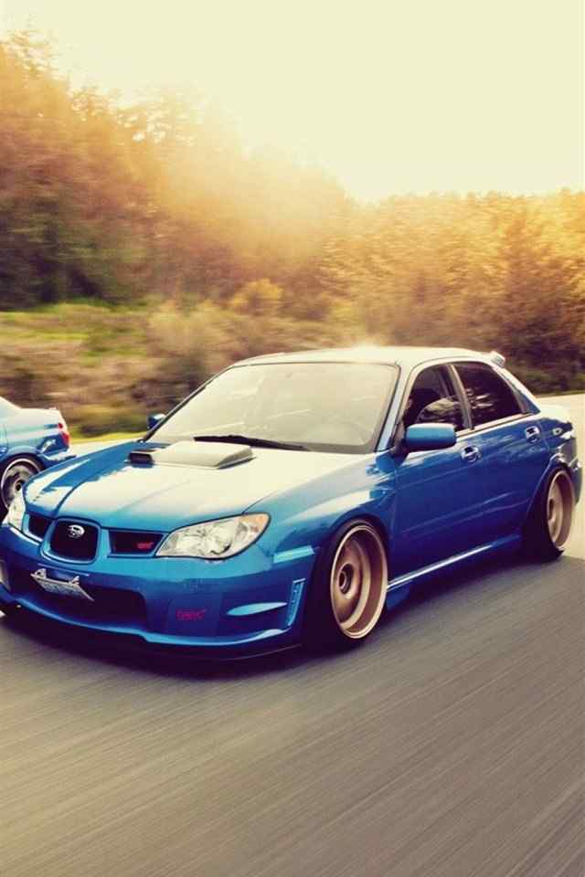 蓝色跑车奔驰高清手机壁纸