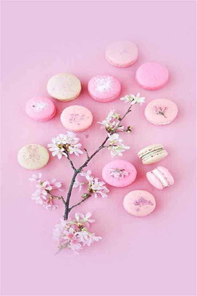 女生最爱甜品马卡龙高清高清手机壁纸下载