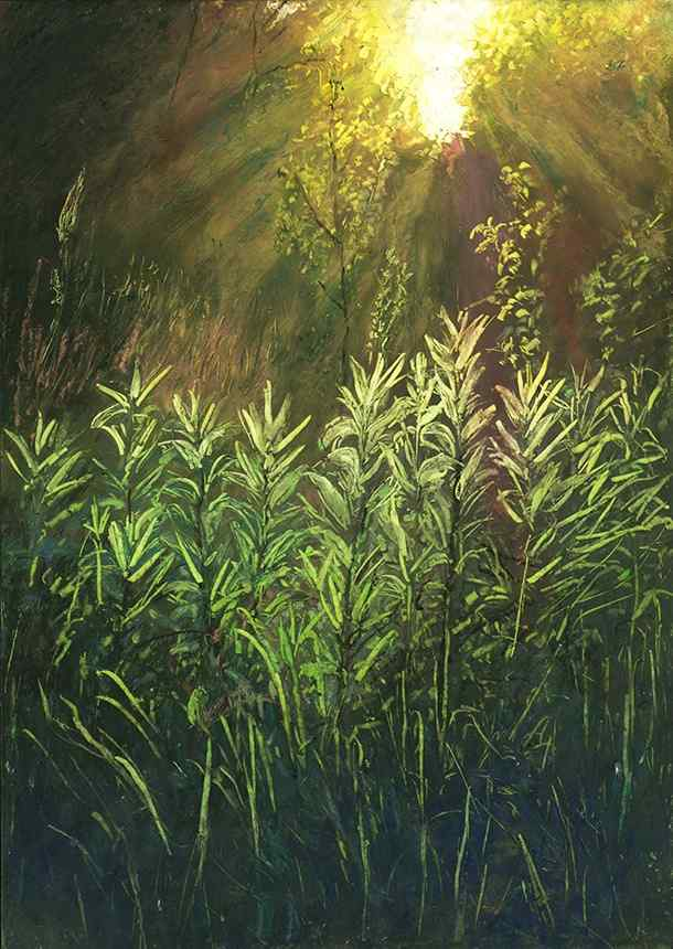唯美油画风景高清手机壁纸