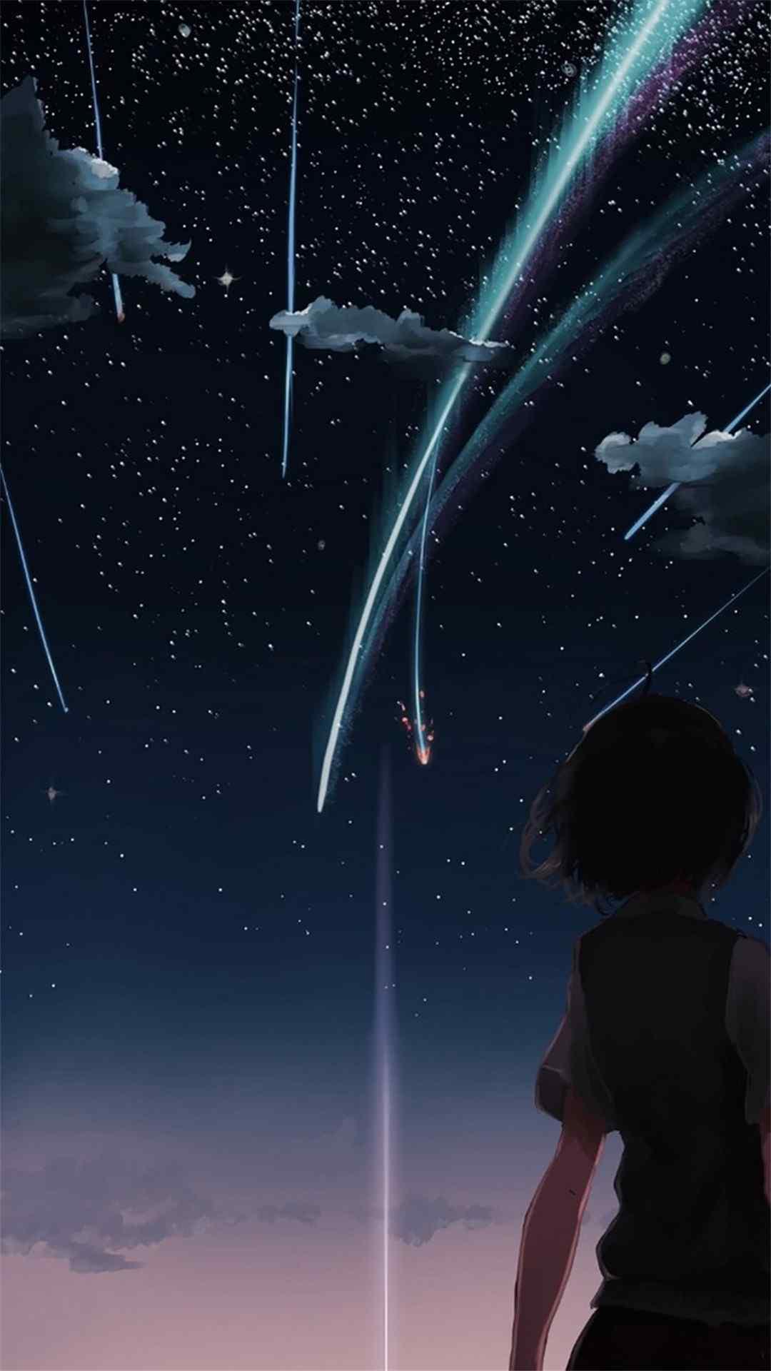 你的名字 星空_你的名字 星空