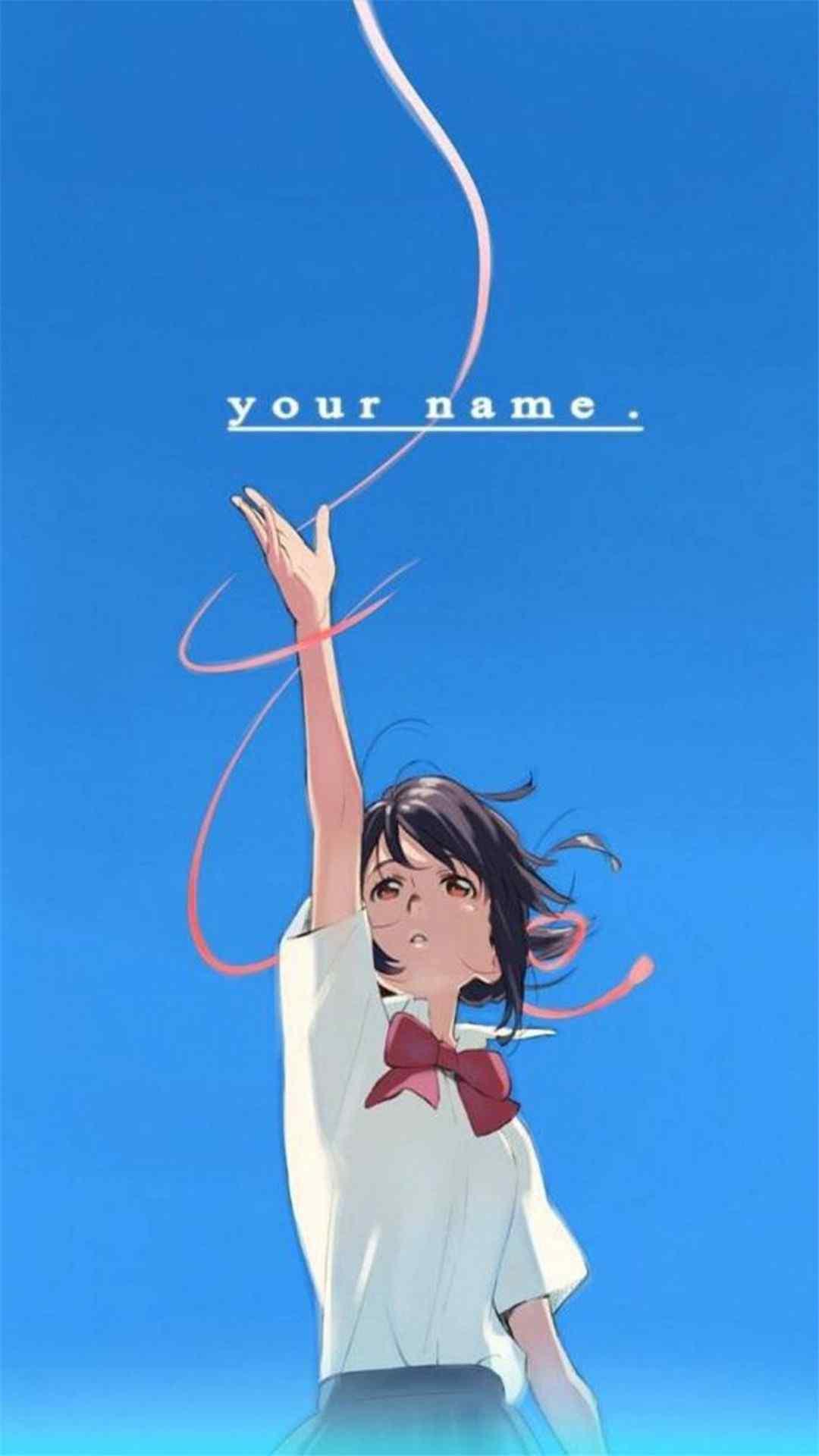 《你的名字》三叶唯美高清手机壁纸