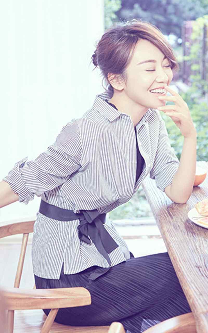 闫妮时尚靓丽高清手机壁纸