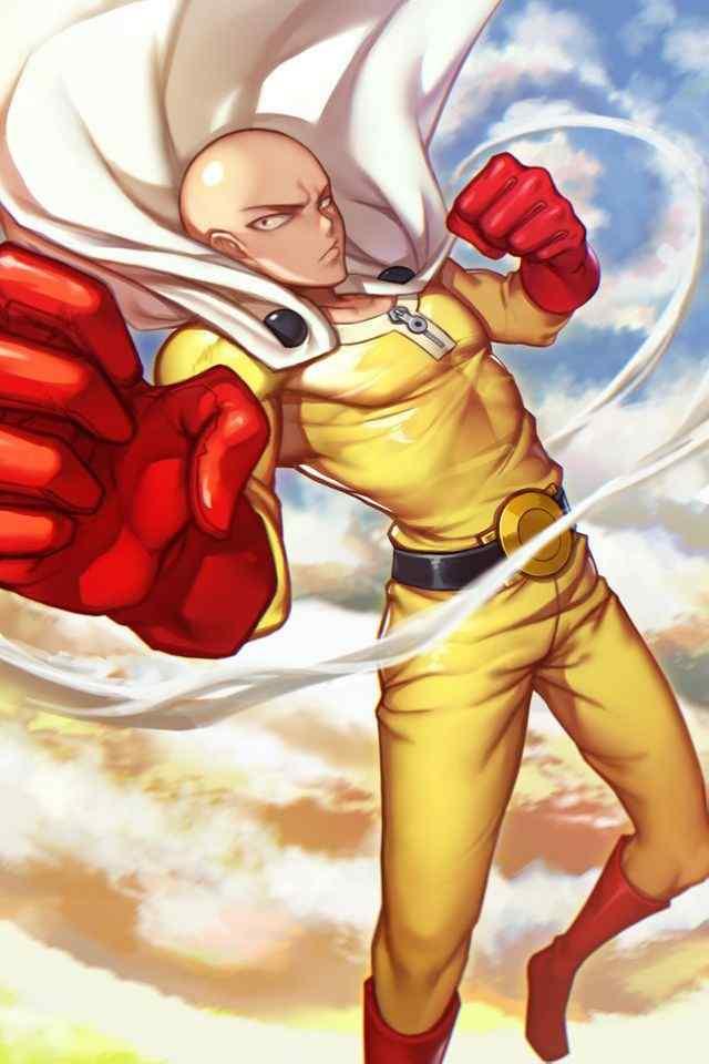 日本动漫一拳超人高清手机壁纸
