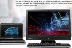 AMD发布第七代Pro A系列APU:面向企业