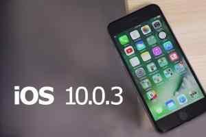 iOS 10.0.3正式发布 iPhone 7/Plus BUG修复