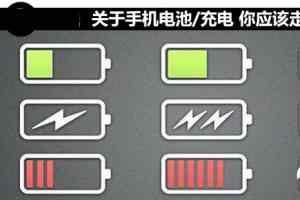 那些关于手机电池