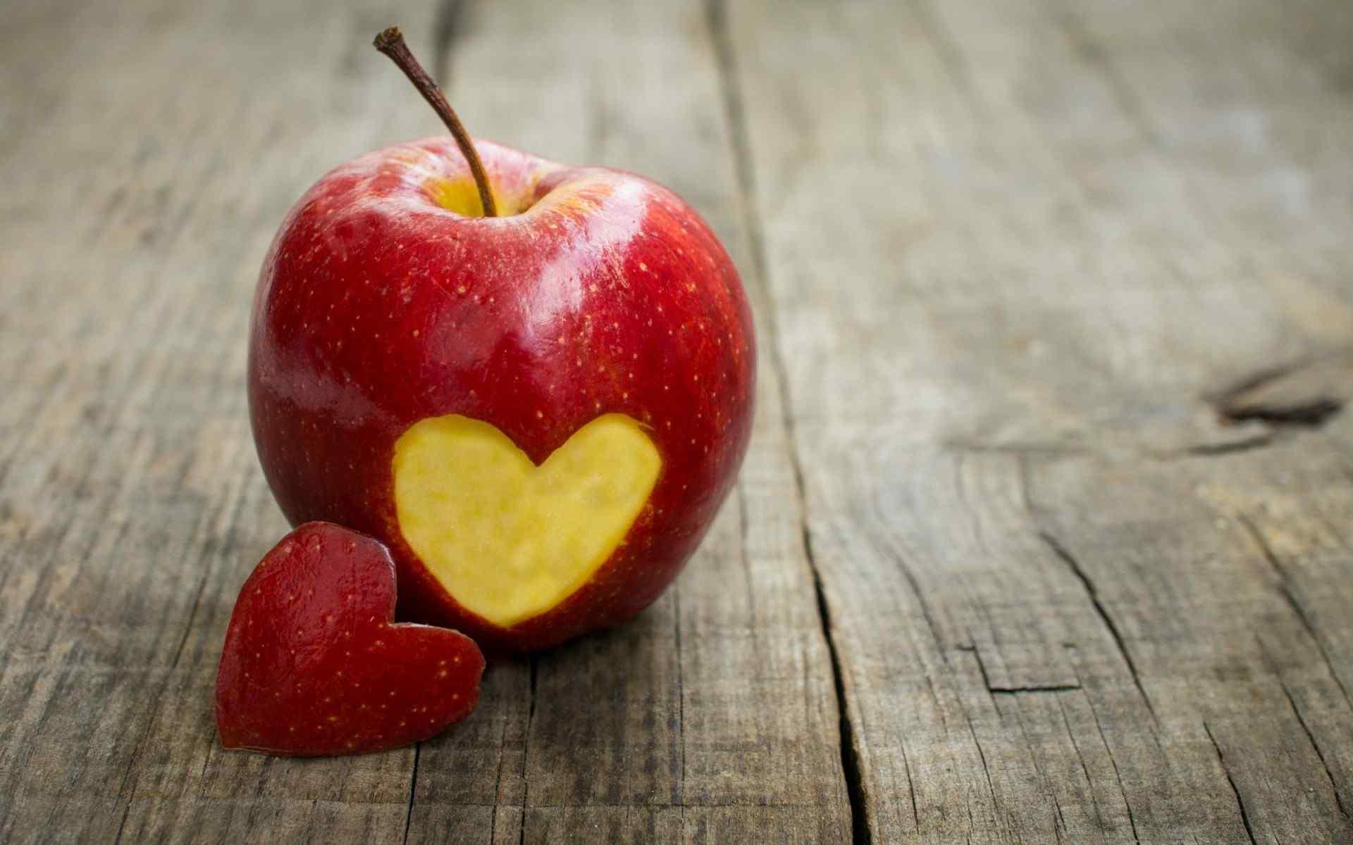 夏季清凉红苹果唯美意境高清桌面壁纸第二辑