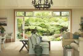 别墅家居沙发墙画温馨摆设宽屏壁纸