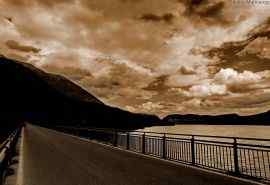 意大利美景黑白风