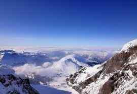 阿尔卑斯山唯美雪