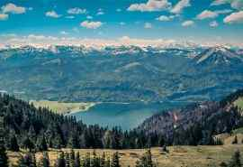 大自然山水风景图