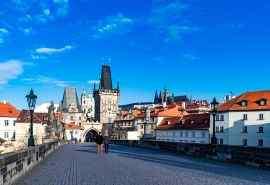 捷克布拉格唯美风景桌面壁纸一