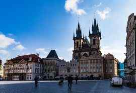 捷克布拉格唯美风景桌面壁纸二