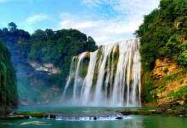 贵州黄果树瀑布自然风光壁纸图片