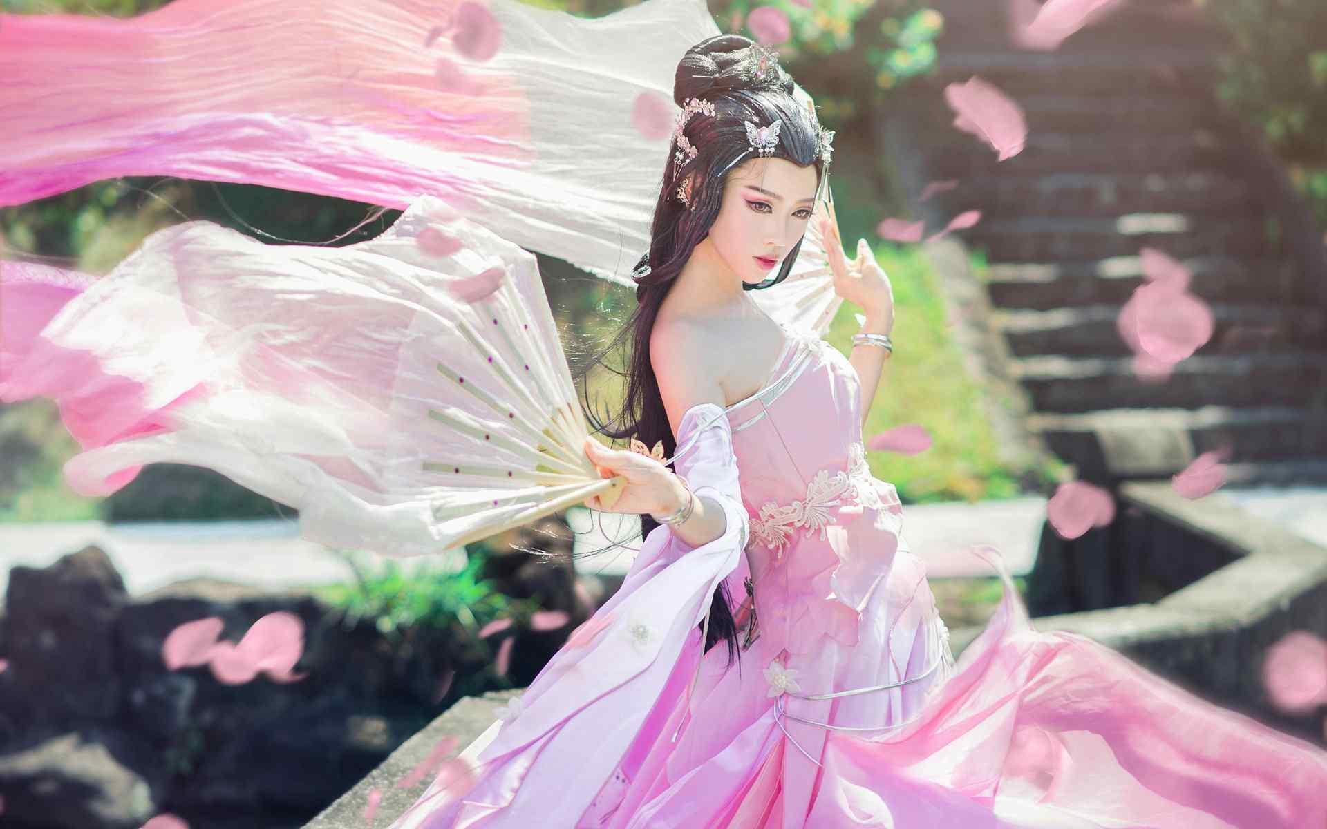 壁纸 人物 美女壁纸 > 古风美女唯美气质高清合集壁纸三  古风美女
