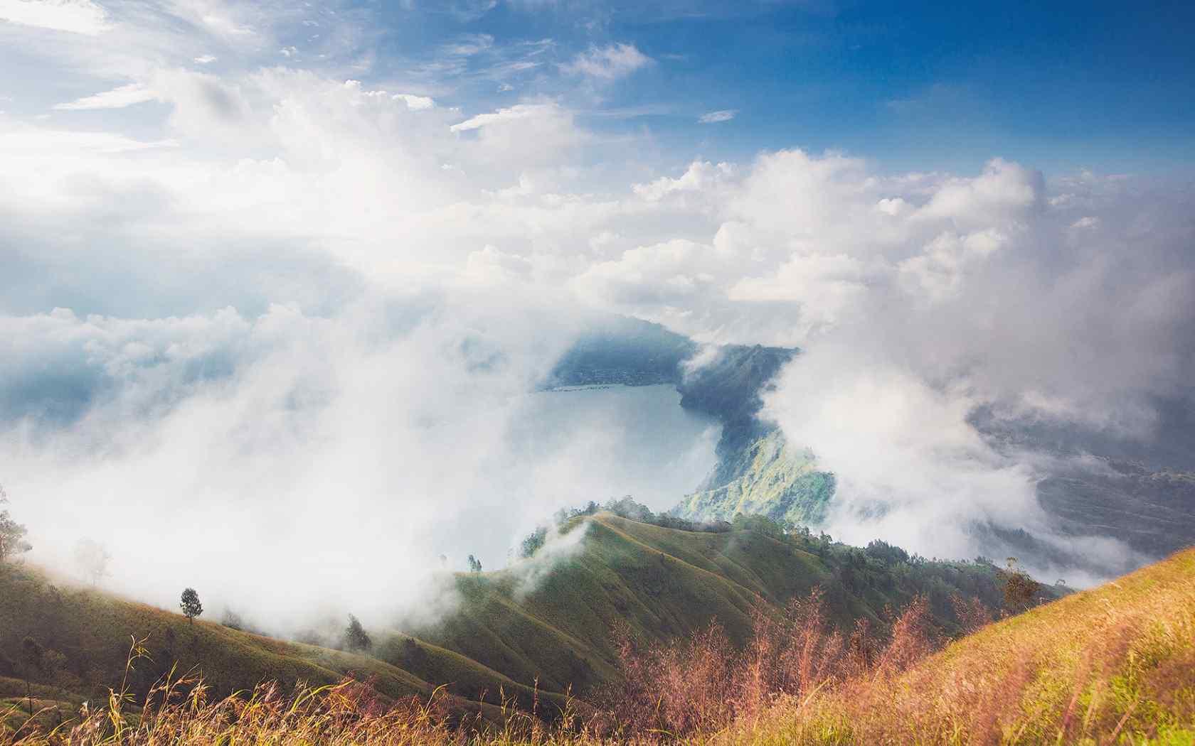 唯美山峰风景图片桌面壁纸图片