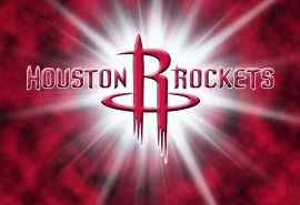 NBA休斯敦火箭队标志高清图片桌面壁纸