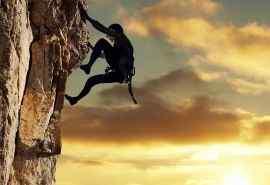 惊险运动攀岩高清