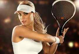 欧美网球美女图片
