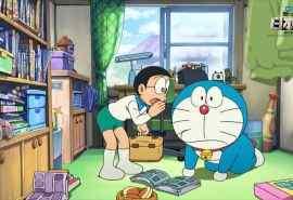 哆啦A梦:新·大雄的日本诞生电脑桌面壁纸