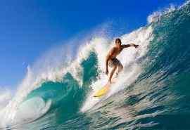 夏日冲浪极限运动