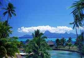 塔希提岛高清海岛