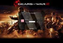 战争机器游戏XP登录界面