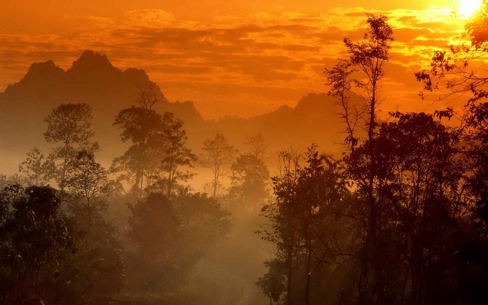 泰国唯美自然风景图片桌面壁纸第二辑