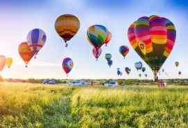 好看的热气球风景图片电脑桌面壁纸下载