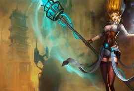 英雄联盟迦娜女神