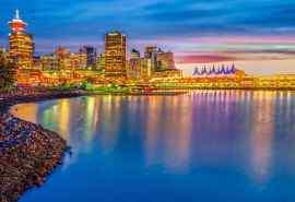 加拿大温哥华风景