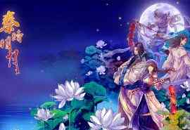 秦时明月唯美古风手绘人物高清电脑桌面壁纸图片
