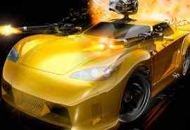 高清帅气游戏汽车