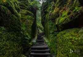 德国建筑撒克逊瑞士国家公园风景壁纸
