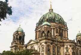 德国柏林建筑唯美风景图片桌面壁纸