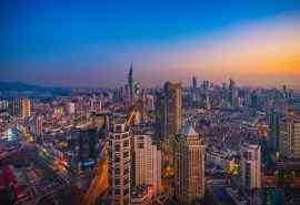 南京古城建筑风景桌面壁纸图片