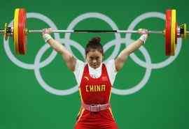 2016里约奥运冠军邓薇比赛图片桌面壁纸