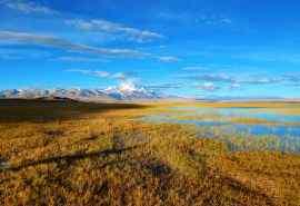 西藏玛旁雍错自然
