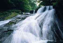 大山深处小溪流水