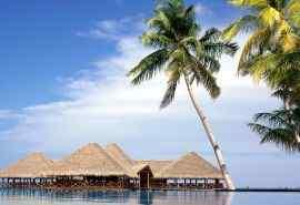 热带岛屿海滩高清